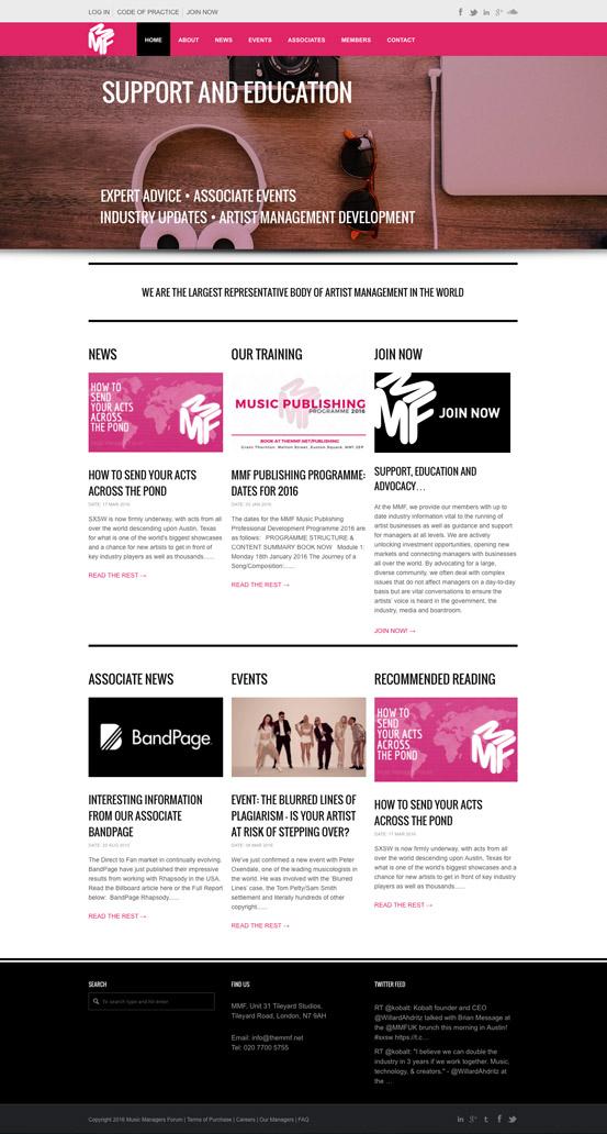 MMF Website